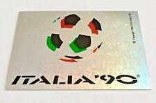 ITALIA '90 - scudetto figurina CALCIATORI Panini 1989-90 - NUOVO ORIGINALE NEW