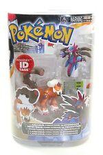 Pokemon Series 1 FIGURE PACK Landorus vs Hydreigon pokedex ID tag NEW