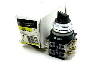NEW GENERAL ELECTRIC CR104PSG47B92 SELECTOR SWITCH