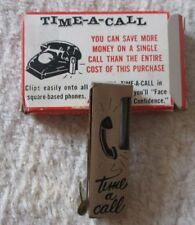 "Vintage ""Time a call""  phone call timer NSC product rare business or home"