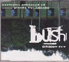 Bush-Greedy Fly cd maxi single