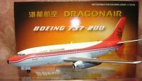 Blue Box BBOX334 Dragonair Boeing 737-200 VR-HYM Diecast 1/200 Model Airplane
