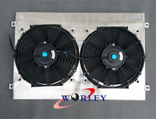 Aluminum Radiator Shroud&Fans for HOLDEN COMMODORE VY V8 2002 2003 2004 02 03 04