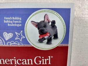 American Girl Truly Me French Bulldog Posable Pet ~ Box Wear