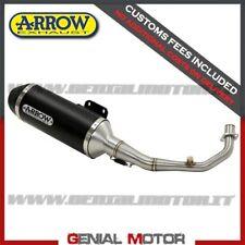 Full Exhaust Kat Arrow Urban Aluminium Black Aprilia Scarabeo 500 2003 > 2006