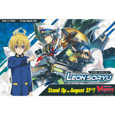 CARDFIGHT!! VANGUARD V * Trial Deck Vol.03: Leon Soryu *PRE-ORDER*