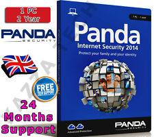 Panda Internet Security 2014 1 PC Utilisateur 2 An! Activation Clé De Licence antivirus