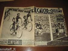 IL CALCIO E CICLISMO ILLUSTRATO 1961/36=HITCHENS=ROMA INTER=ERIK VAN LOOY=