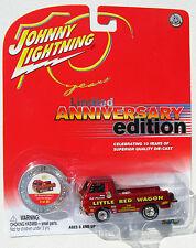 JOHNNY LIGHTNING 10TH ANNIVERSARY BILL MAVERICK'S LITTLE RED WAGON #9/20