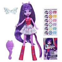 "My Little Pony Equestria Hasbro 9"" Girls Doll - Purple Hair Twilight Sparkle"