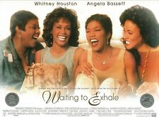 Waiting To Exhale movie poster - Whitney Houston poster - 12 x 16 inches