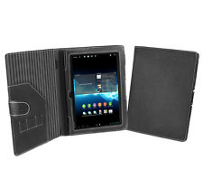 Cover-Up Sony Xperia Tablet S (9.4-Inch) Black Faux Leather (Book Style) Case
