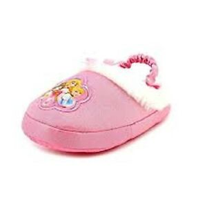 Disney Princess Kids Scuff Slippers (S (5/6) M US Toddler)