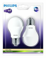 Philips 929000220661 – pack de 2 bombillas Led Estándar mate 60w casquillo ...