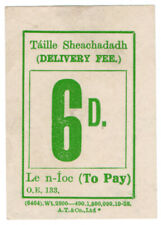 (I.B) Dublin & South Eastern Railway : Delivery Fee 6d