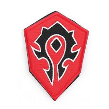 WOW World Of Warcraft Horde Embroidered Airsoft Paintball Patch
