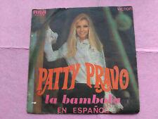 7'' SINGLE PATTY PRAVO - LA BAMBOLA EN ESPAÑOL - RCA SPAIN 1968 VG/VG+