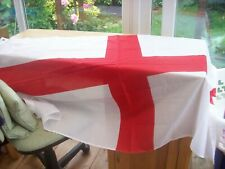 ST GEORGES CROSS FLAG  100 PER CENT POLYESTER