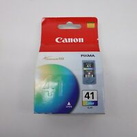 Genuine Canon Pixma 41 Ink Cartridge Color CL-41 New Factory Sealed