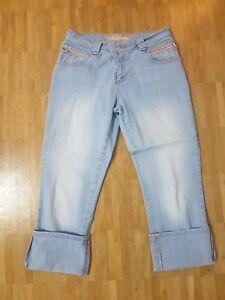 CASA BLANCA Damen Jeans kurz 7/8 Gr. 36-38