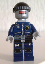 Lego Robo SWAT with knit cap and neck bracket tlm079 (From 70815) The Lego Movie