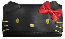 47c5a7915 Loungefly Sanrio Hello Kitty Bow Cute Faux Leather Zip Clutch Wallet  Sanwa0877