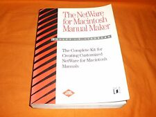 the netware for macintosh manual maker