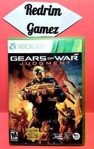 Gears Of War Judgment XBOX 360 Video Games