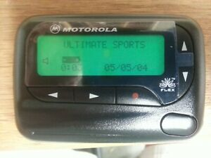 MOTOROLA  ADVISOR II  ALPHA PROP  PAGER / BEEPER  WITH HOLSTER!!