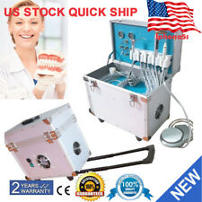 Dental Portable Delivery Unit Rolling Box Curing Lightultrasonic Scaler 4 Hole
