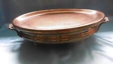 chauffe plat ancien en cuivre boulle pl 10 ml