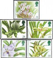 Großbritannien 1446-1450 (kompl.Ausg.) postfrisch 1993 Welt-Orchideen-Konferenz