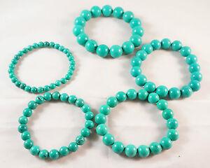 Tibet Buddhist Green turquoise prayer beads Bracelet Various Size uk