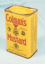 * Vintage Retail Collectors Tin Box - Colman's Mustard