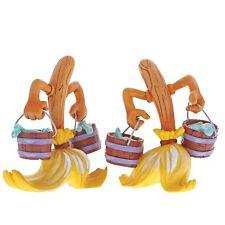 The World of Miss Mindy Disney 6001165 Fantasia Broom Figurines