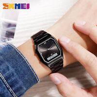 SKMEI Fashion Casual Watch Men Digital Dual Display Sports Quartz Watches 1612