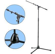 K&M 210/9 Mikrofonstativ schwarz mit ausziehbarem Galgen