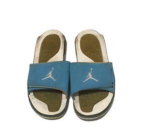 Air Jordan Retro 3 Powder Blue Hydro Slide Sandals Mens Size 13