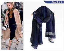 0c5af45af0e8 Écharpes et châles foulards gris pour femme   eBay