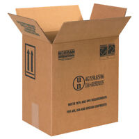 "Box Partners F-Style Paint Can Boxes 2 - 1 Gallon 11 3/8"" x 8 3/16"" x 12 3/8"""
