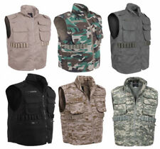 Rothco Military Tactical Hunting Camouflage Ranger Vest With Hood