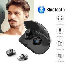 New Mini TWS Twins Wireless Bluetooth Stereo Headset In-Ear Earphones Earbuds UK