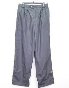 FootJoy FJ DryJoys Mens Golf Wind Rain Pants Black Full Zip Leg Size Medium