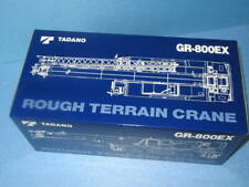 Obsolete Construction Machinery Miniatures Rough Terrain Crane