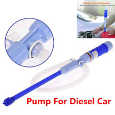 Diesel Fuel Water Gas Fish Tank Solvent Electric Battery Syphon Powered Pump Car
