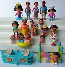 20 Dora the Explorer Figures Lot DORA BOOTS SWIPER ABUELA MAMI PAPI +++