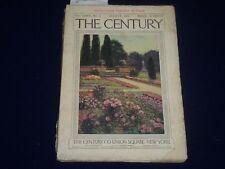 1910 AUGUST THE CENTURY MAGAZINE - MAXFIELD PARRISH - JULES GUERIN - SP 2589