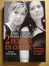 Livre Deux femmes en colère juive ou musulmane citoyennes libres /Z115