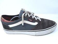 Vans Gilbert Crockett Mens Pro Cork/Dark Grey BMX Skate Shoes sz 12