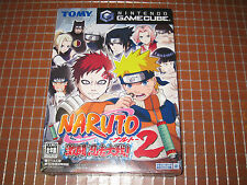 NARUTO Gekitoh Ninja Taisen 2 JAP NINTENDO GAMECUBE NGC NEW SEALED